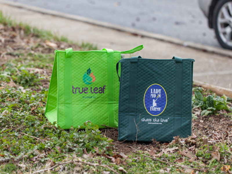 Product Feature - Reusable Insulated Bags